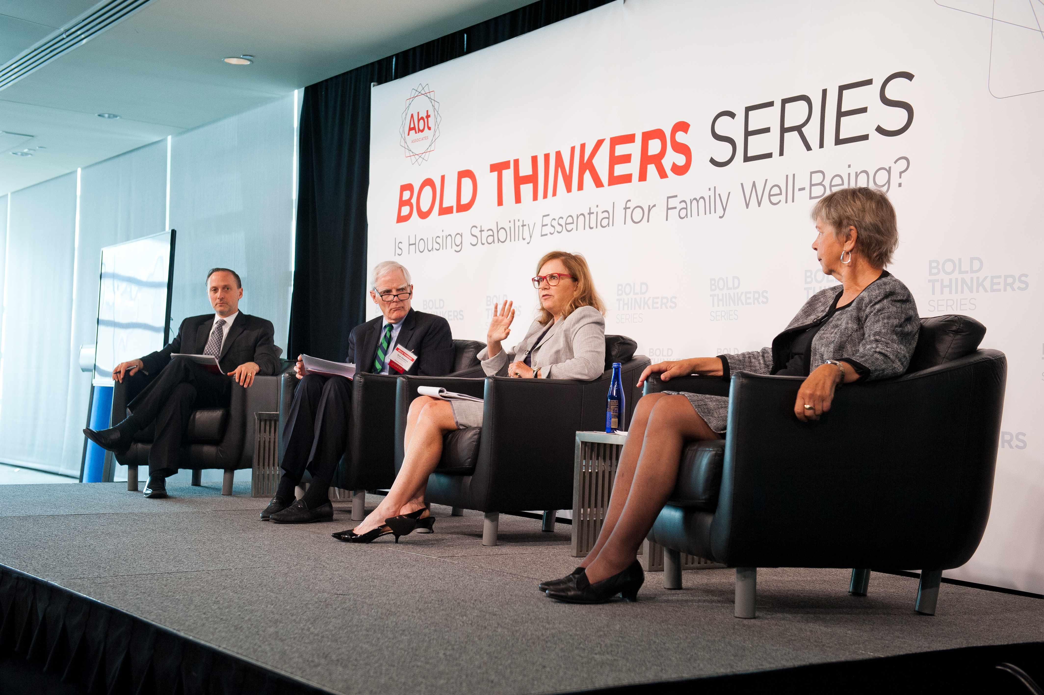 bold thinkers series event stage