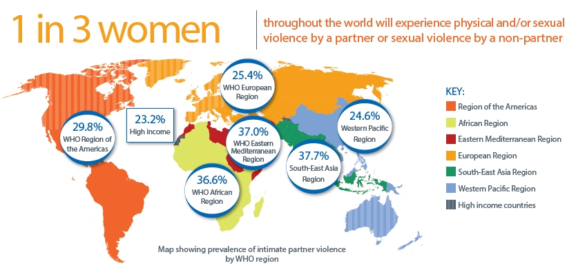 violence against women map