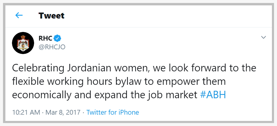 Expanding Jordan's Workforce Through Policy Change