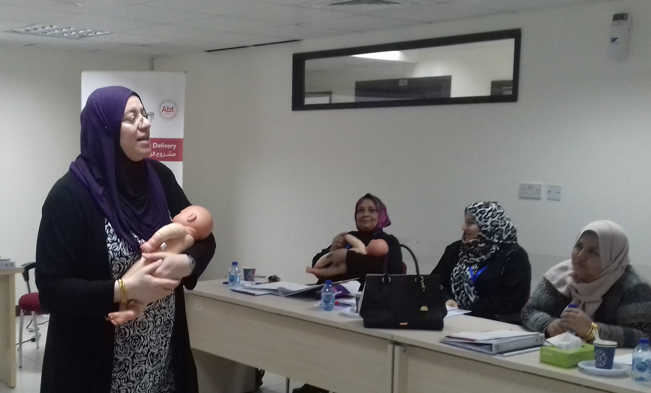 Supporting New Mothers in Jordan