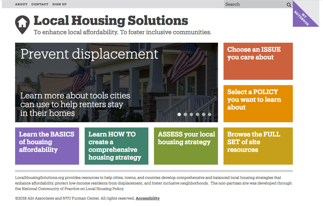 local housing solutions