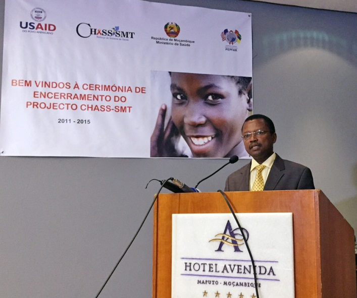 Mouzinho Saide, Vice Minister of Health for Mozambique, said that CHASS-SMT, led by Abt Associates, proved that much could be achieved in a short time regarding HIV and AIDS care.