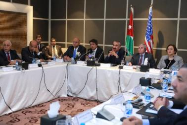 The Abt Associates-led J-CAP project facilitated a discussion in May among governors in Jordan about their role in achieving the country's population and development goals.