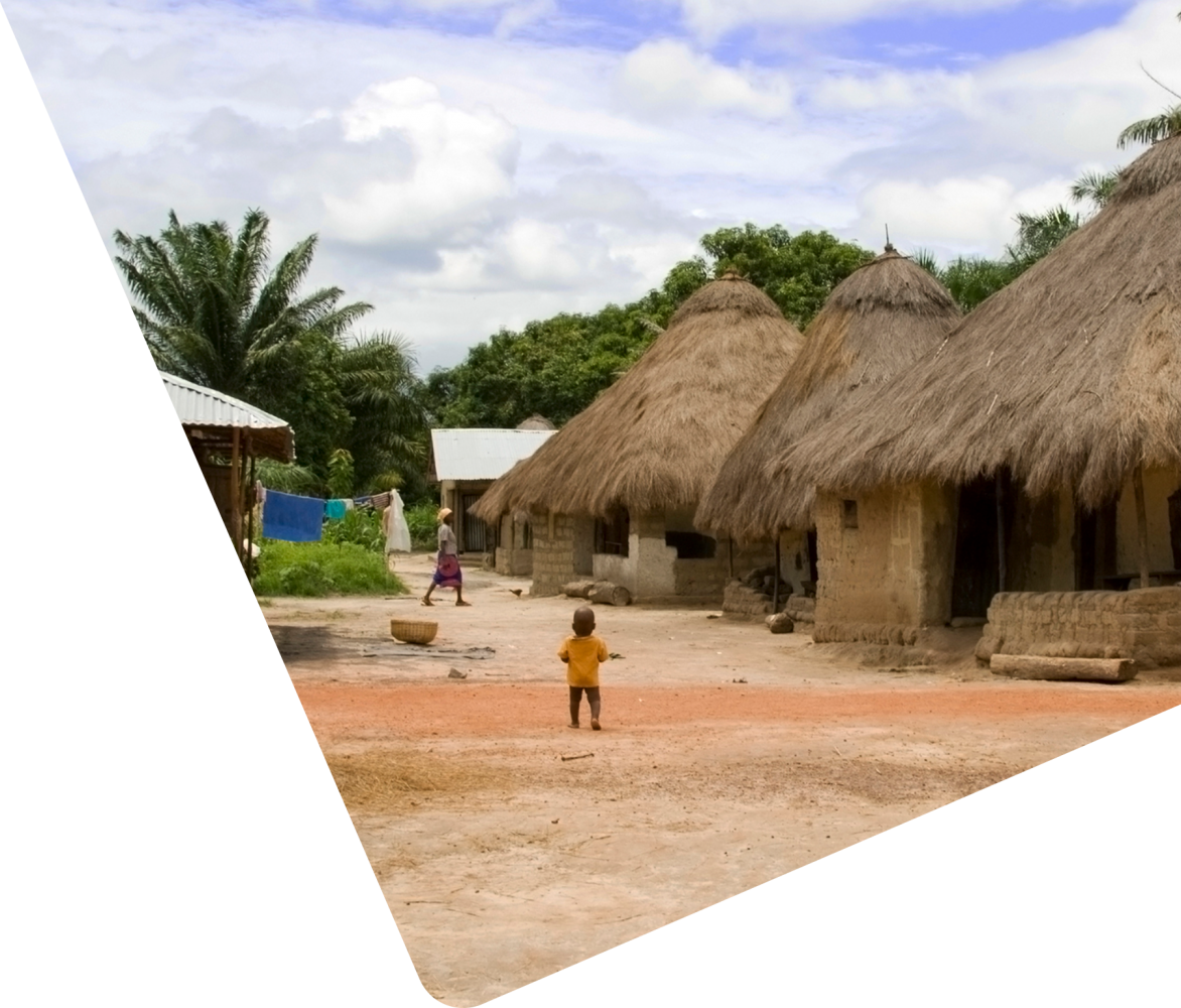 village in Sierra Leone